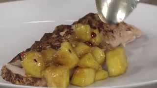 Jerk Chicken with Spicy Mango Topper