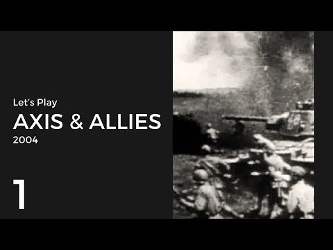 Let's Play Axis & Allies (2004) WWII Mode USA