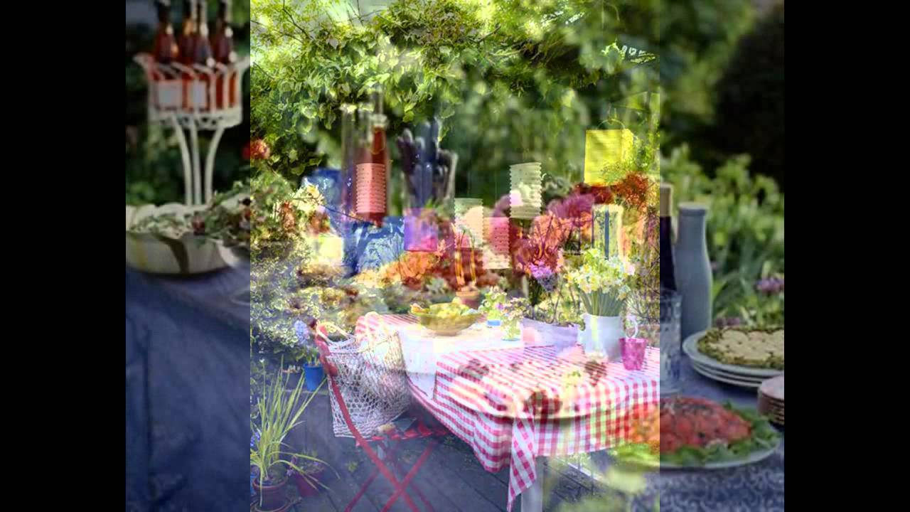 Home Garden Party Decorations   YouTube