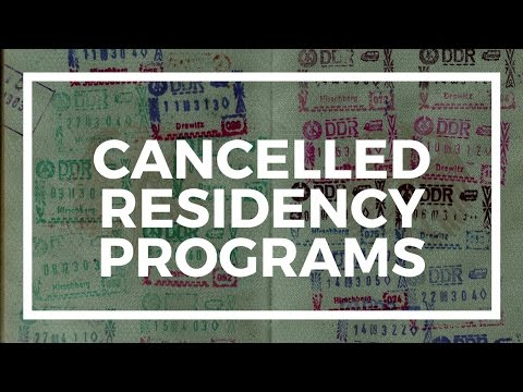 Second residency programs that no longer exist