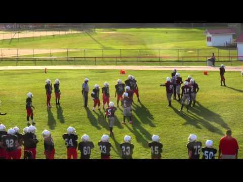 William J. Clark Middle School vs. Calhoun County Middle School (Football - 2014)