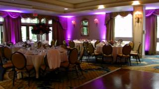 Custom Uplighting - Water's Edge, Westbrook, CT Wedding DJ