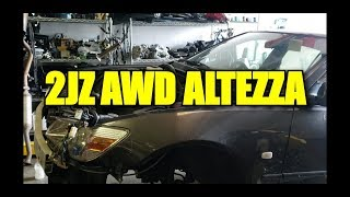 2JZ AWD ALTEZZA IN THE MAKING