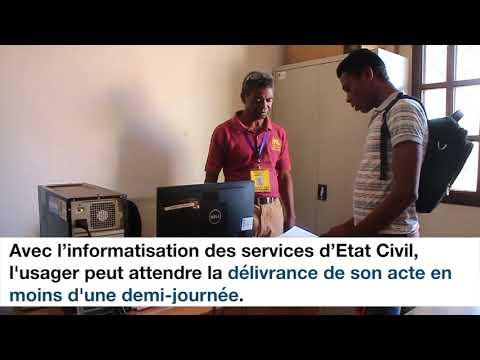 La Mairie d'Ambovombe réhabilitée avec l'appui du PNUD