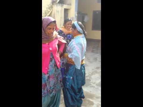 Funny Punjabi old women