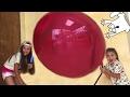 Giant Balloon Гигантский Шар Челлендж Challenge!