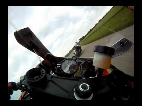 Mystery rider hot lap on AMA superbike