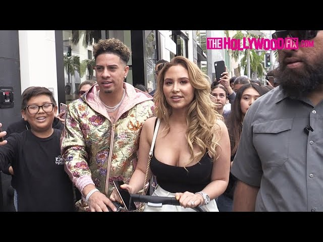 The ACE Family Is Mobbed By Fans While Shutting Down Rodeo Drive For A Shopping Spree 5.18.19