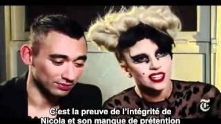 02/03/11 Interview Times Lady GaGa & Nicola (MUGLER) - Sous titres Français (GaGavision.net)