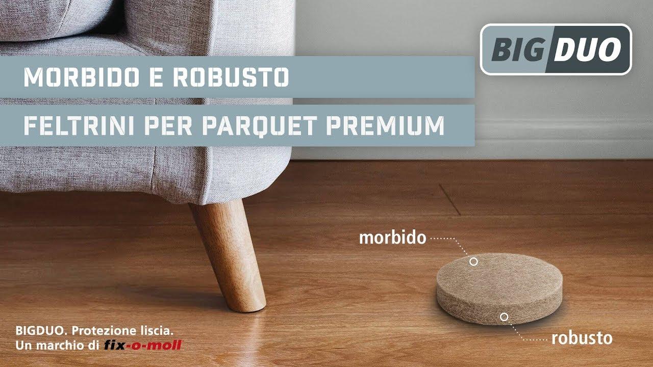 BIGDUO feltrini per parquet Premium - Protezione liscia ...
