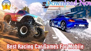 Top 4 Car Racing Games fo All Mobile😲👍