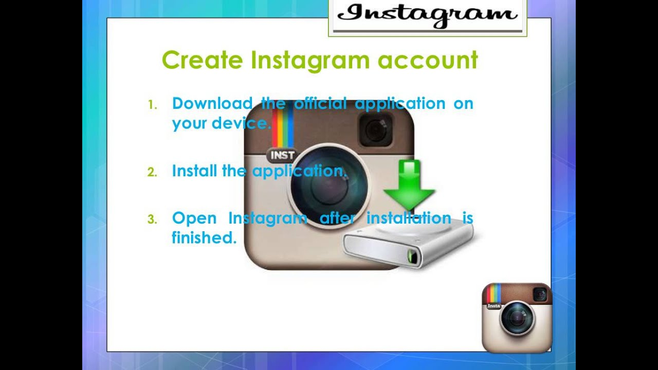 Create an instagram account - Create An Instagram Account 24