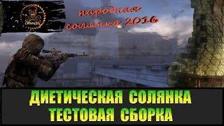 Сталкер Народная солянка 2016 диета тест сборки 19.02.18 (тест патча)