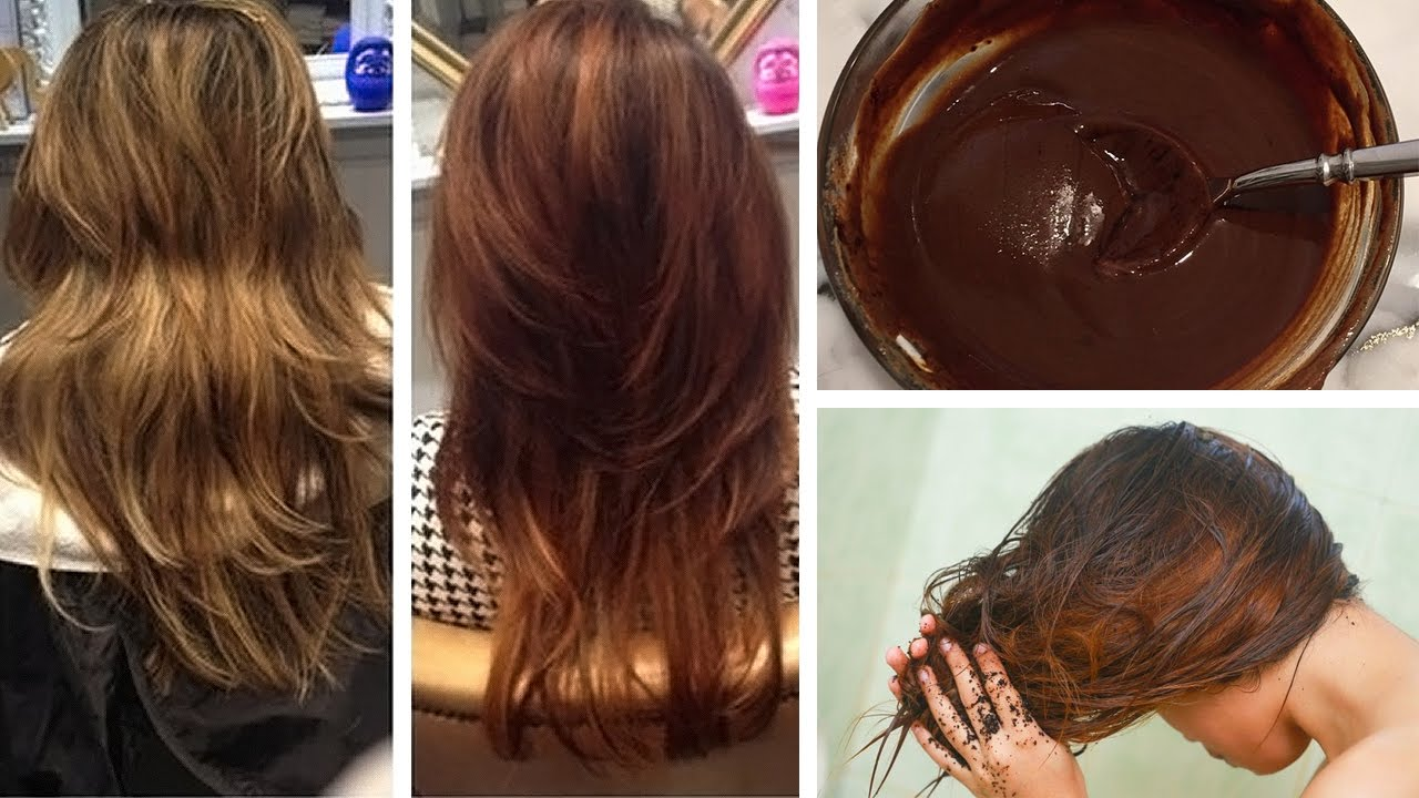 How To Dye Your Hair Naturally With Coffee Youtube