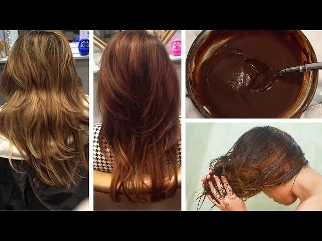 Recipes for Homemade All Natural Hair Dyes for Color without ...