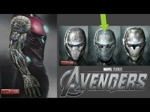 Leaked Avengers 4 Concept Art Reveals Iron Man's New Suit