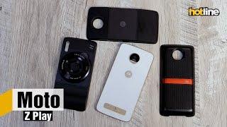 Moto Z Play — обзор смартфона со сменными модулями от Lenovo