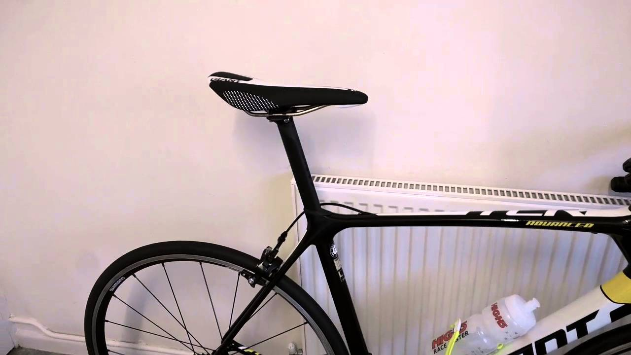 Giant tcr variant composite seat post seatpost review install