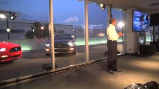 2015 Ford Mustang introduction by Raj Nair, Ford Global VP Product Development