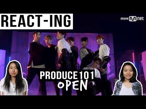"PRODUCE 101 Season 2 ""OPEN IT (열어줘)"" (FUTURE EDM)   MV REACTION"