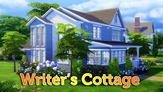 The Sims 4 Speed Build: Writer's Cottage