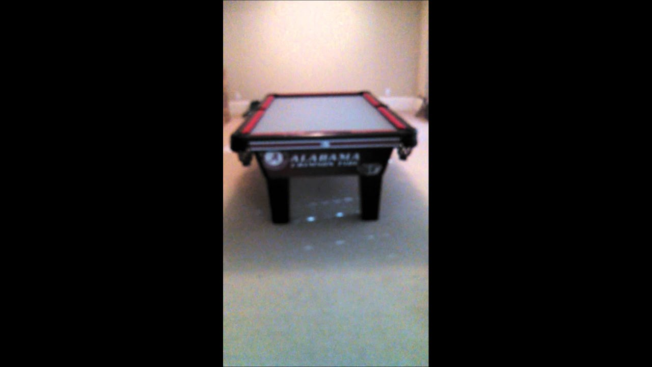 4 X 8 Olhausen Alabama Crimson Tide Pool Table
