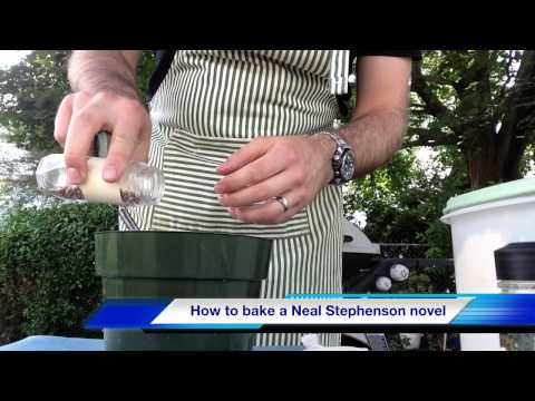 How To Bake A Neal Stephenson Novel