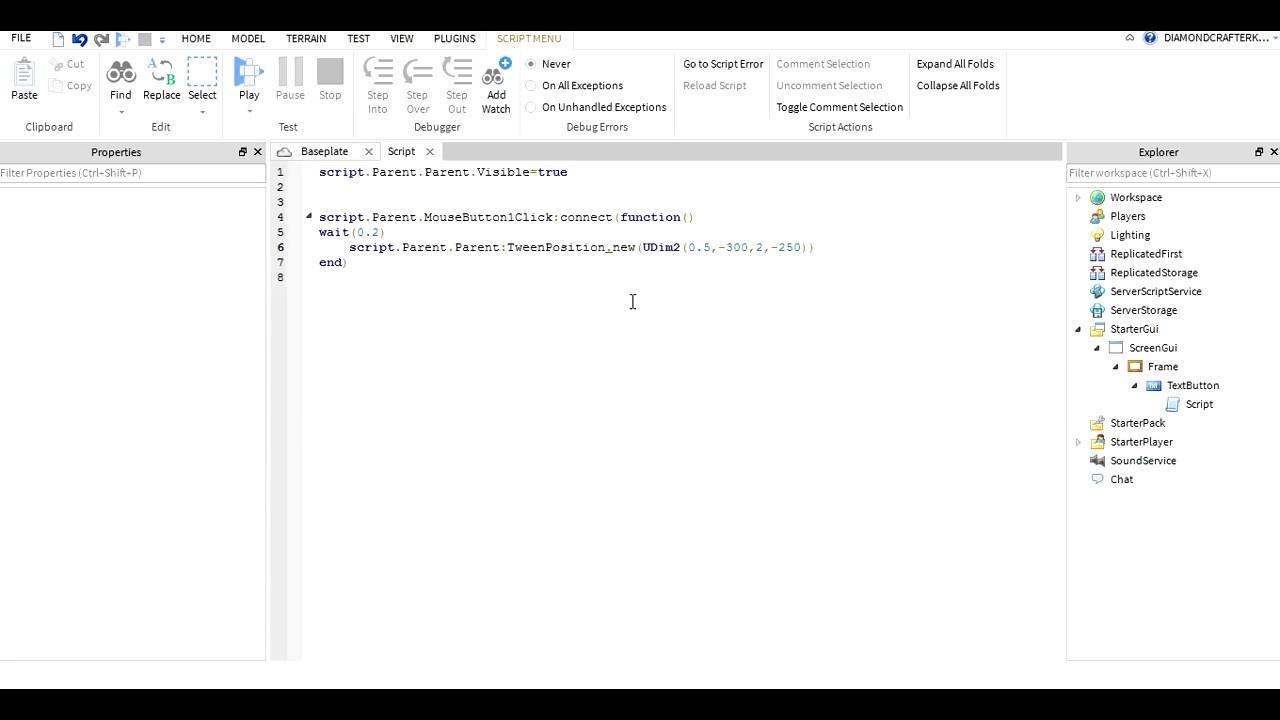 How To Tween Gui (Roblox Scripting)