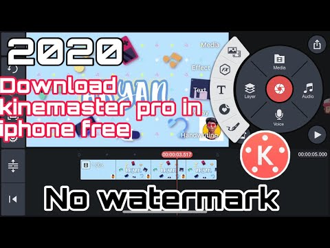 How to get kinemaster pro apk in ios 2020 || no jailbreak or pc required || latest trick ||