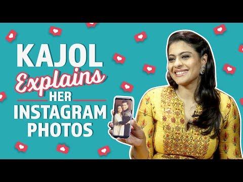Kajol reveals the stories behind her Instagram Photos | Pinkvilla | Bollywood | #KuchKuchHotaHai