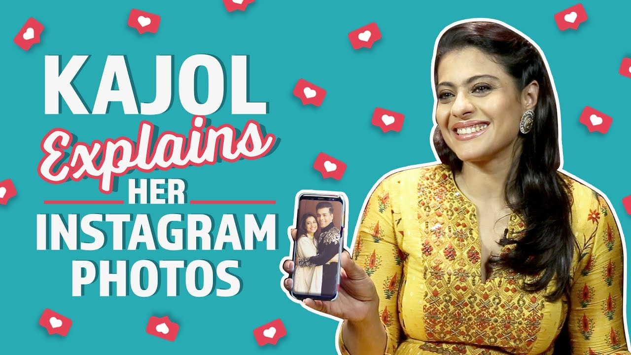 Kajol reveals the stories behind her Instagram Photos | Pinkvilla | Bollywood | #KuchKuchHotaHai