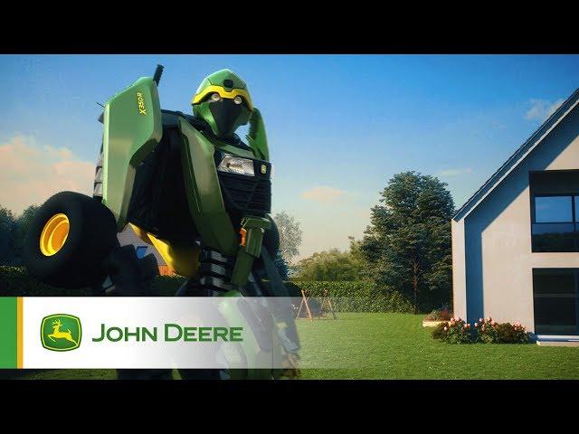 Tracteur de jardin John Deere X350R - Transformer
