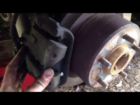 How to install new VS Commodore Brake Pads