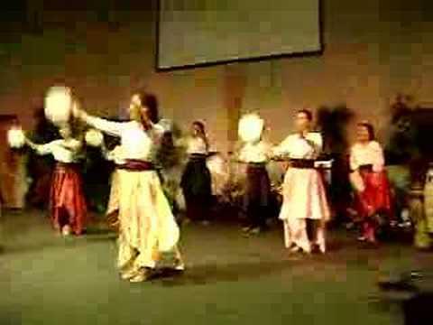 TAMBOURINE FILIPINO DANCERS IN CANADA - YouTube