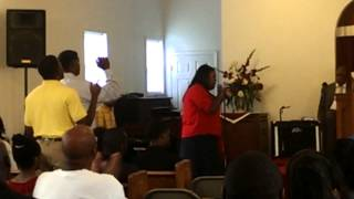 Ashley Williams sings That's When Mercy Walked In