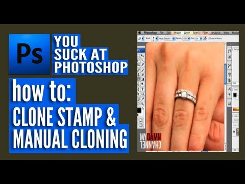 You Suck At Photoshop - Clone Stamp And Manual Cloning