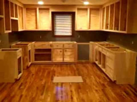 Homemade cabinets 6  YouTube