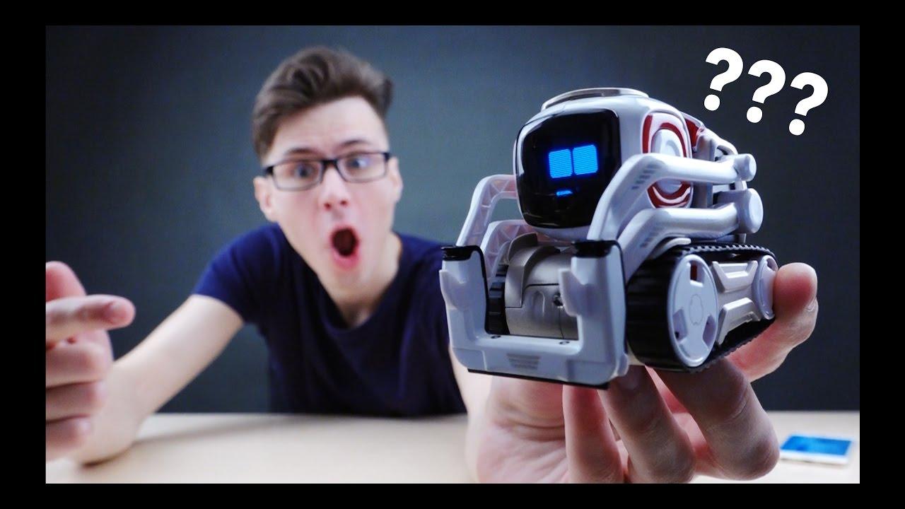 Промо ролик робота трансформера Xiaomi Smart Mi Bunny Block Robot .