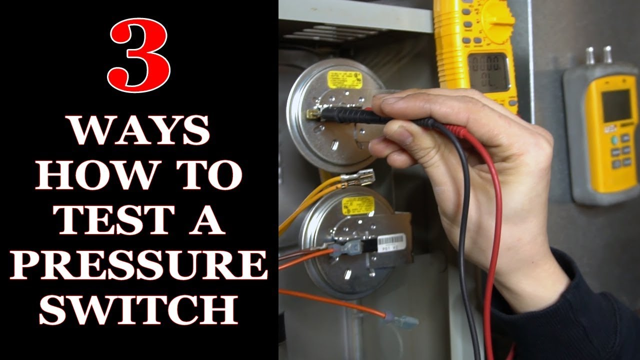 How to Test Pressure Switch on a Furnace - YouTube | Two Stage Pressure Switch Wiring Diagram |  | YouTube