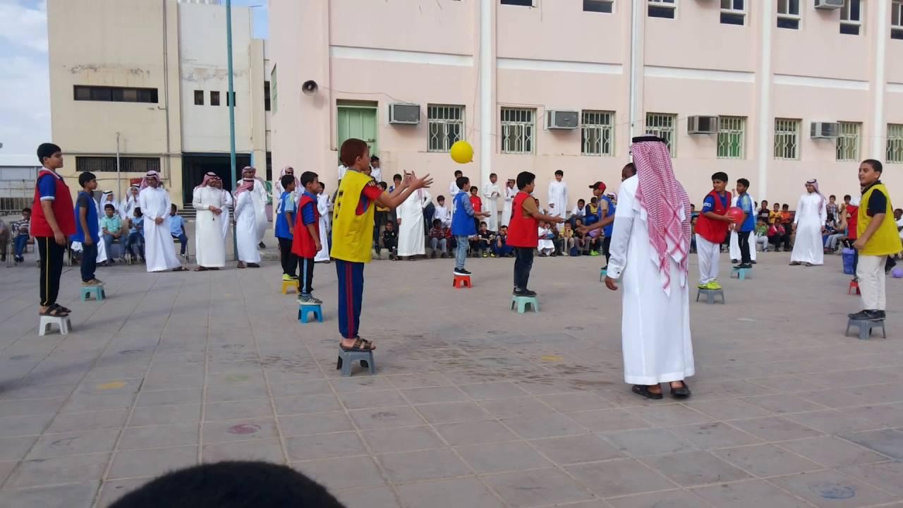 مدرسة سعد بن معاذ الابتدائيه ب الخرج Youtube