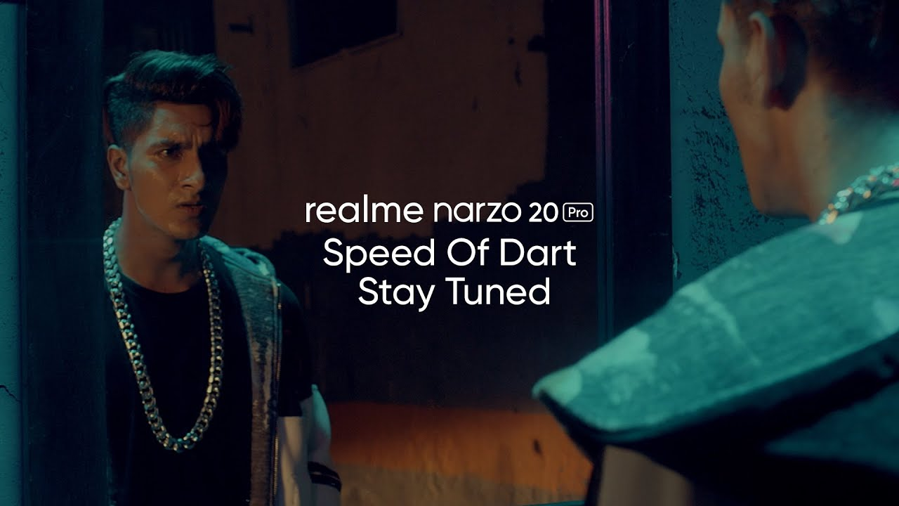 realme Narzo 20 Pro | Speed Of Dart | Stay Tuned