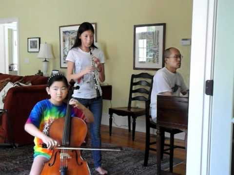 Dvorak - Two Minuets For Piano Trio.m4v