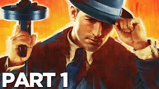 MAFIA DEFINITIVE EDITION Walkthrough Gameplay Part 1 - INTRO (MAFIA REMAKE)