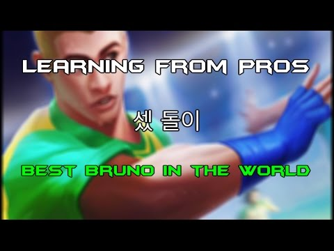 Learning from Pros - 셌 돌이 - Best Bruno in the World