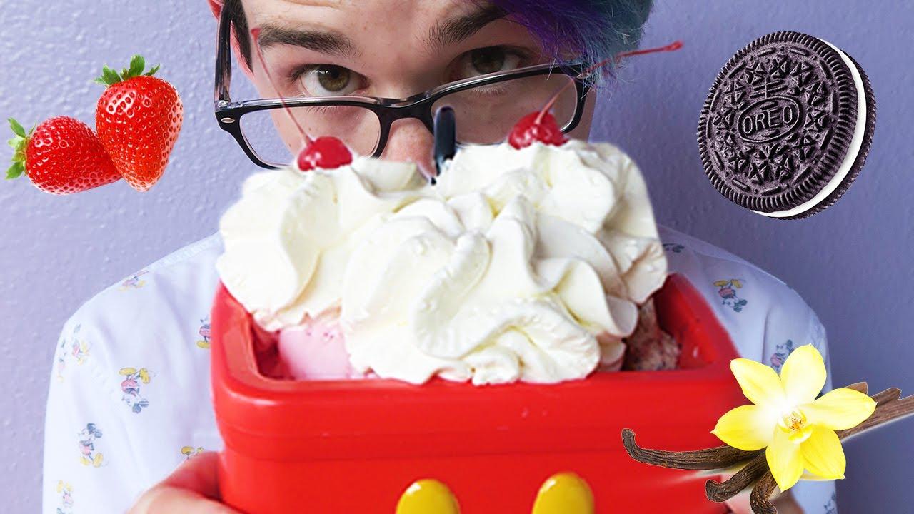 Disney mickey kitchen sink sundae challenge youtube disney mickey kitchen sink sundae challenge workwithnaturefo