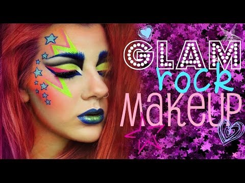 Glam Rock Entry To MAKE UP FOR EVER'S Makeup Addict Contest