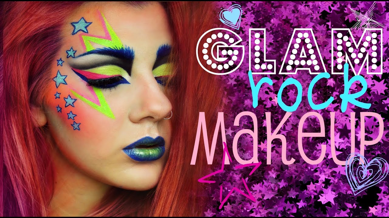 Glam Rock Makeup Pictures - Mugeek Vidalondon