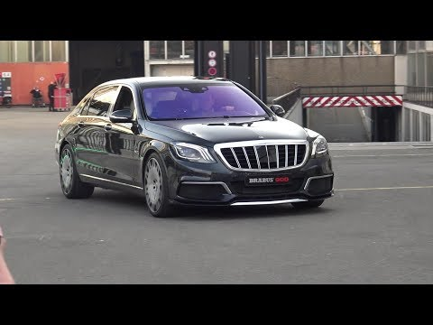 2019 Maybach S650 Brabus 900 - BRUTAL REVS AND ENGINE SOUNDS!