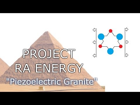 Project Ra Energy: piezoelectric effect demonstrated when drilling granite