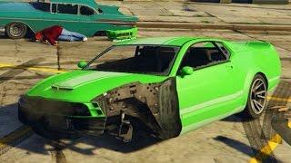 GTA 5 REALISTIC DAMAGE MOD!